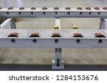 conveyor belt in production | Shutterstock . vector #1284153676