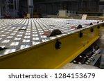 conveyor belt in production | Shutterstock . vector #1284153679