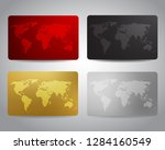 gift cards or discount cards or ... | Shutterstock .eps vector #1284160549