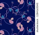 halftone color texture... | Shutterstock .eps vector #1284165043