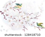 Vector Illustration Blooming...