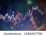 business success and growth... | Shutterstock . vector #1284207700