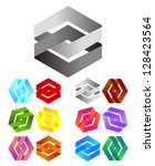 design logo element. infinite... | Shutterstock .eps vector #128423564