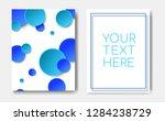 modern trendy poster concept...   Shutterstock .eps vector #1284238729