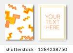 modern trendy banner concept...   Shutterstock .eps vector #1284238750