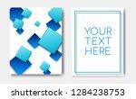 modern trendy poster concept...   Shutterstock .eps vector #1284238753