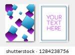 modern trendy flyer concept...   Shutterstock .eps vector #1284238756