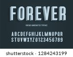 forever vintage handcrafted 3d... | Shutterstock .eps vector #1284243199