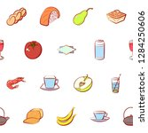 various images set. background... | Shutterstock .eps vector #1284250606
