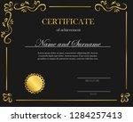 creative certificate  diploma.... | Shutterstock .eps vector #1284257413