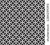 seamless intersecting geometric ... | Shutterstock .eps vector #1284259393