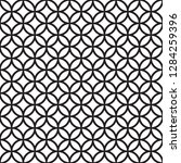 seamless intersecting geometric ... | Shutterstock .eps vector #1284259396
