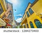 capri  italy   may 25  2018 ... | Shutterstock . vector #1284273403