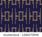 art deco seamless pattern.... | Shutterstock .eps vector #1284273940