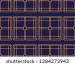 art deco seamless pattern.... | Shutterstock .eps vector #1284273943