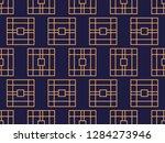 art deco seamless pattern.... | Shutterstock .eps vector #1284273946
