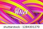 modern geometric background.... | Shutterstock .eps vector #1284301270