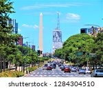 buenos aires  argentina  ... | Shutterstock . vector #1284304510