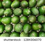 bunch of avocados. photo image | Shutterstock . vector #1284306070