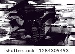 distressed background in black...   Shutterstock .eps vector #1284309493