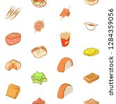 various images set. background... | Shutterstock .eps vector #1284359056