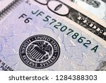 the emblem of the federal...   Shutterstock . vector #1284388303