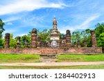 sukhothai historical park   it... | Shutterstock . vector #1284402913