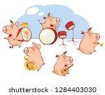 vector illustration of the... | Shutterstock .eps vector #1284403030