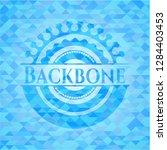 backbone light blue mosaic... | Shutterstock .eps vector #1284403453