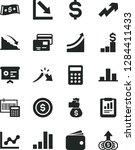 solid black vector icon set  ... | Shutterstock .eps vector #1284411433