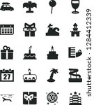 solid black vector icon set  ... | Shutterstock .eps vector #1284412339