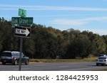 intersection at 54 and oak... | Shutterstock . vector #1284425953