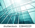 perspective and underside angle ... | Shutterstock . vector #128443229