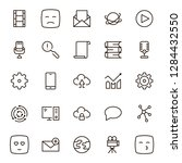 network icon set. collection of ...   Shutterstock .eps vector #1284432550
