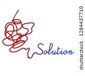 vector simple illustration for... | Shutterstock .eps vector #1284437710