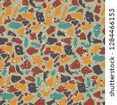 terrazzo texture seamless...   Shutterstock .eps vector #1284466153