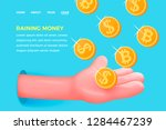 vector website banner concept   ... | Shutterstock .eps vector #1284467239