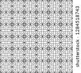 seamless monochrome interlaced...   Shutterstock .eps vector #1284518743
