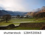 morning mists in great langdale ... | Shutterstock . vector #1284520063