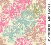 vector beach seamless pattern... | Shutterstock .eps vector #1284526486