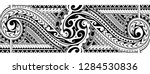 tribal art tattoo sleeve in... | Shutterstock .eps vector #1284530836