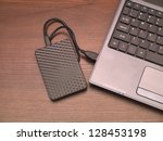 Portable Hard Drive And Laptop...