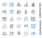 contemporary icons set....   Shutterstock .eps vector #1284534769