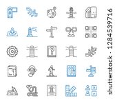 guide icons set. collection of...   Shutterstock .eps vector #1284539716