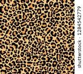 Leopard Pattern. Seamless...