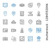 album icons set. collection of... | Shutterstock .eps vector #1284552046