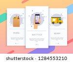 onboarding screens user... | Shutterstock .eps vector #1284553210