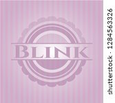 blink vintage pink emblem | Shutterstock .eps vector #1284563326
