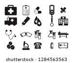 doctor medical hospital... | Shutterstock .eps vector #1284563563