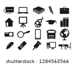 school education paint draw... | Shutterstock .eps vector #1284563566